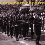 Comores 78 - Defile, Martel a la tete de sa section