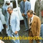 Comores 78 - le Colonel en VRP avec une delegation commerciale