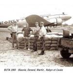Congo 65 - Buta - Biaunie, Le Colonel, Martin, Robyn, Couke