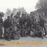 Katanga 62 - Le Colonel avec une partie de son Groupe Mobile C