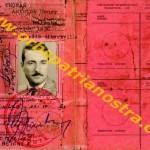 Vrai-Faux permis de conduire du congo belge au nom de Antoine Thomas (2-2)