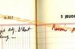 opn BD agenda 1967 04-05 janvier