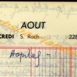 opn BD agenda 1967 16 aout