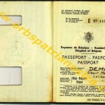 passeport belge G 419166 001