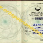 passeport diplomatique comorien 112-78 001