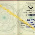 passeport diplomatique comorien 112-78 001