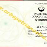 passeport diplomatique comorien 780901 1