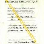 passeport diplomatique comorien 780901 2