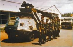 Photo 10 - L'équipage du Scania