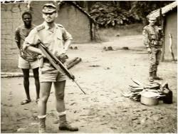 Photo 26 - Karl Coucke en patrouille sur renseignement