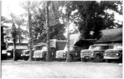Photo 40 - Le garage du 1er choc à Buta
