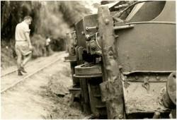 Photo 45 - Déraillement vers Ngume
