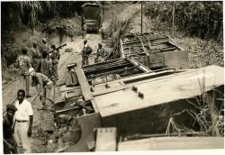 Photo 48 - Déraillement des trois wagons
