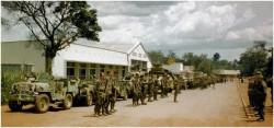 Photo 7 - présentation 1er  Choc à Paulis avant l'opération Wamba