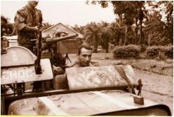 Photo43 - Départ de la colonne de ravitaillement sur Aketi